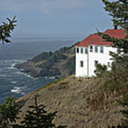 Cape Foulweather Lookout Art Print