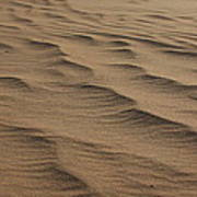 Cape Hatteras Ripples In The Sand-north Carolina Art Print
