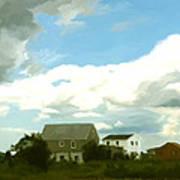 Cape House Art Print by Paul Tagliamonte