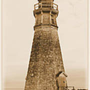 Cape Jourimain Lighthouse Art Print