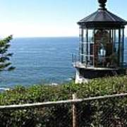 Cape Meares Lighthouse 1 Art Print
