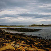 Cape Porpoise Maine - After The Rain Art Print by Bob Orsillo