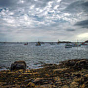 Cape Porpoise Maine - In The Evening Art Print