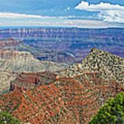 Cape Royal Two On North Rim Of Grand Canyon-arizona Art Print