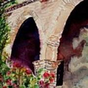 Capistrano Arches Art Print
