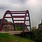 Capital Of Texas Bridge Art Print