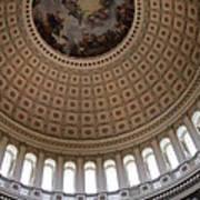Capitol Cupola Washington Dc Art Print