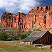 Capitol Reef Homestead Art Print