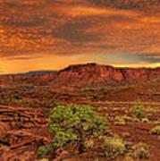 Capitol Reef National Park Utah  Art Print