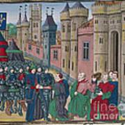 Capitulation Of Bordeaux Art Print
