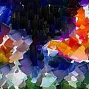 Capixart Abstract 119 Art Print by Chris Axford