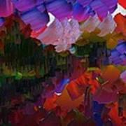 Capixart Abstract 75 Art Print by Chris Axford