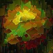 Capixart Abstract 83 Art Print by Chris Axford