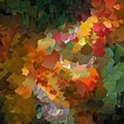 Capixart Abstract 90 Art Print by Chris Axford