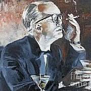 Capote By Hoffman Art Print
