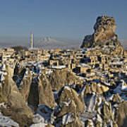 Cappadocia In Winter Art Print