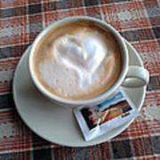 Cappuccino Love Art Print