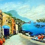 Capri Fantasies Art Print