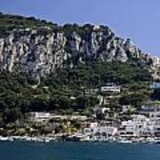 Capri Italy Art Print