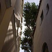 Capri - The Mediterranean Sun Painting Playful Shadows On Facades Art Print