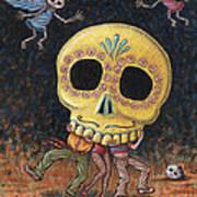Caprichos Calaveras #2 Art Print
