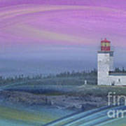 Capricious Lighthouse... Art Print