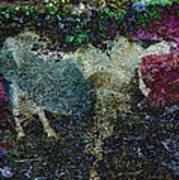 Capricorn Abstract Art Print
