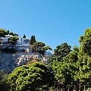 Capri's Gardens Art Print