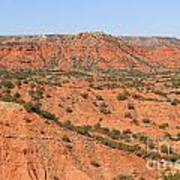 Caprock Canyon 1 Art Print