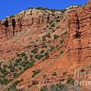 Caprock Canyon 3 Art Print