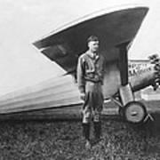 Captain Charles Lindbergh Art Print
