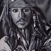 Captain Jack Sparrow Art Print by Lori Keilwitz