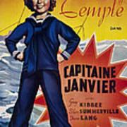 Captain January Aka Capitaine Janvier Art Print