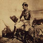 Captain Thomas, Aide-de-camp To General Bosquet Art Print