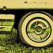 Car And Tire Art Print
