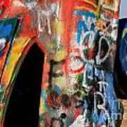 Car Of Many Colors Art Print