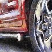 Car Rims 02 Photo Art 02 Art Print