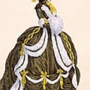 Caramel Dress For Presentation Art Print
