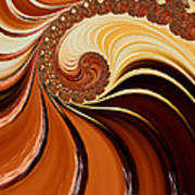 Caramel  Art Print by Heidi Smith