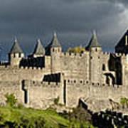 Carcassonne Panorama Art Print