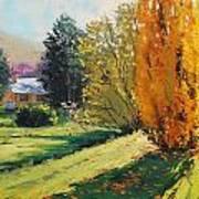 Carcor Autumn Art Print by Graham Gercken