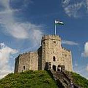Cardiff Castle Keep Art Print