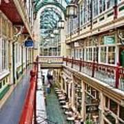 Cardiff Wyndham Arcade 8278 Art Print