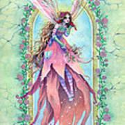 Cardinal Fairy Art Print