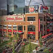 Cardinals Nation Ballpark Village Dsc06176 Art Print
