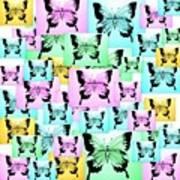 Carefree Butterflies Art Print