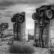 Carhenge Automobile Art 3 Art Print