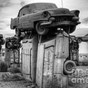 Carhenge Automobile Art 4 Art Print