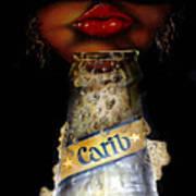 Carib Beer Art Print