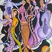 Caribbean Calypso Art Print
